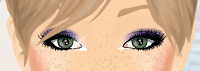 yeux maquillage marin