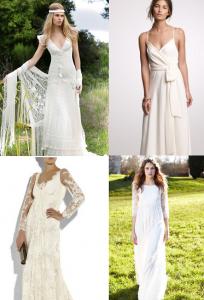 robe de mariée champètre 2012