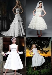 robe de mariée vintage 2012