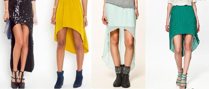 Tendance été 2012 : la jupe asymétrique
