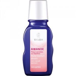 huile corporelle hydratante à l'amande de weleda pour peau séche et sensible