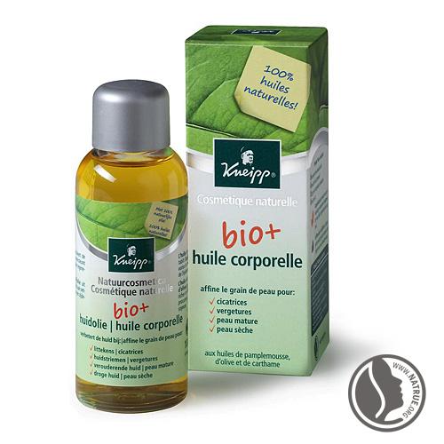 huile corps de kneipp bio pour peau sèche et sensible