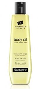 huile de corps neutrogena pour peau sèche