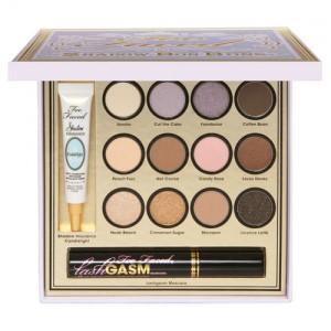 palette de maquillage too faced avec base primer mascara