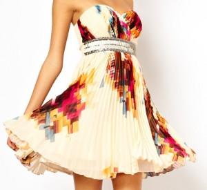 robe bustier pas cher trouvable sur le site asos