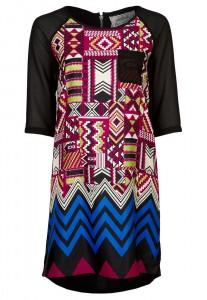 robe courte pas cher de marque suncoo disponible sur zalando robe multicolore hiver pas cher