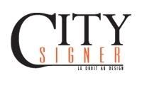 logo citysigner code promo