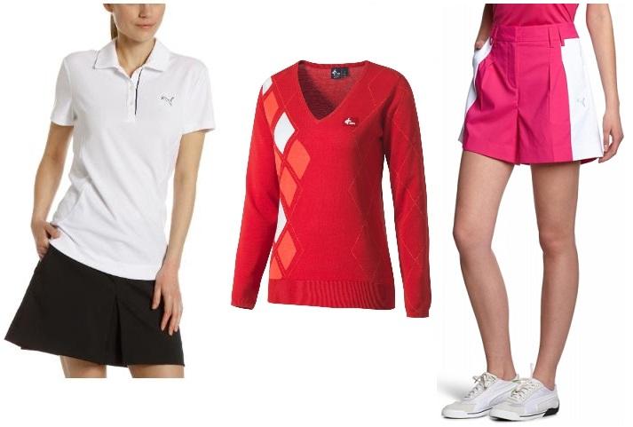 Vêtements golf femme