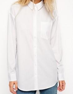 La chemise blanche masculine
