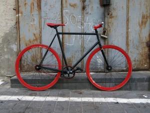 Vélo à pignon fixe