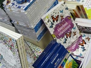 Cahiers de coloriage pour adultes
