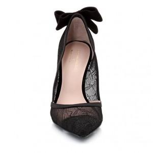 chaussure noeud papillon dentelle la redoute