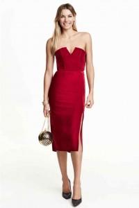 robe rouge fête pas cher