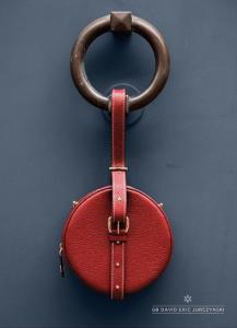 photo de sac en forme de macaron