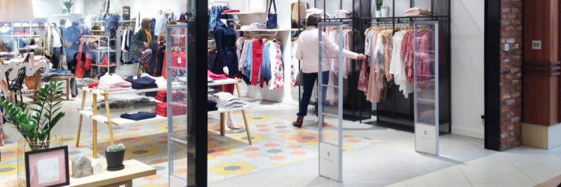 Protéger les vêtements avec des antivol très discrets
