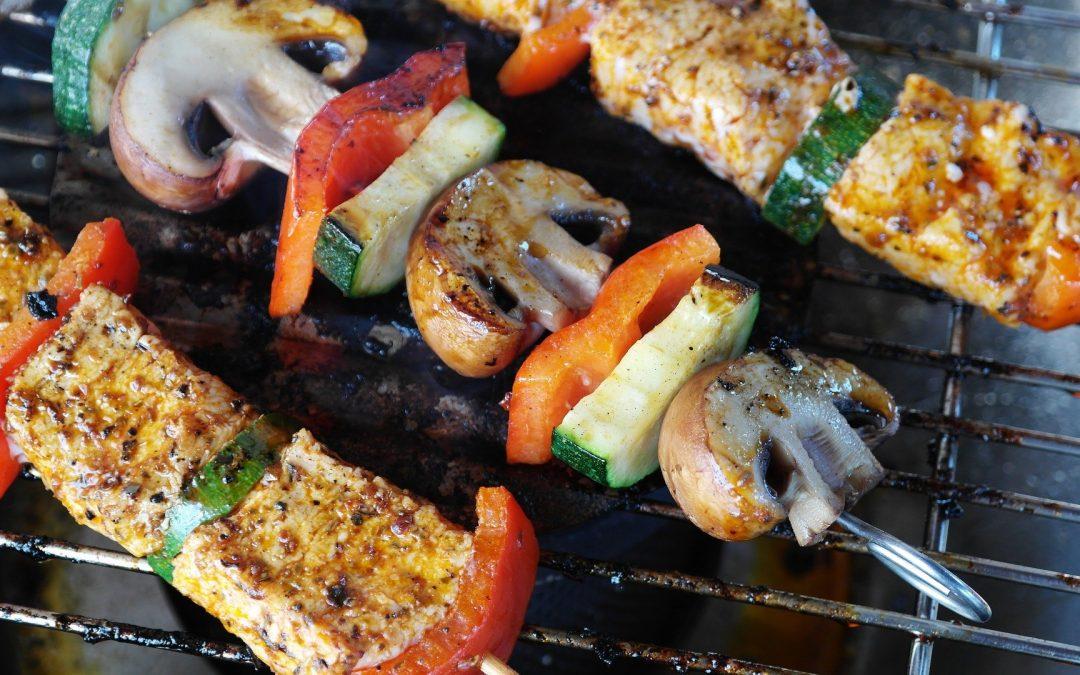Grillade sur barbecue