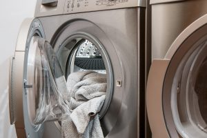 machine à laver et sèche linge