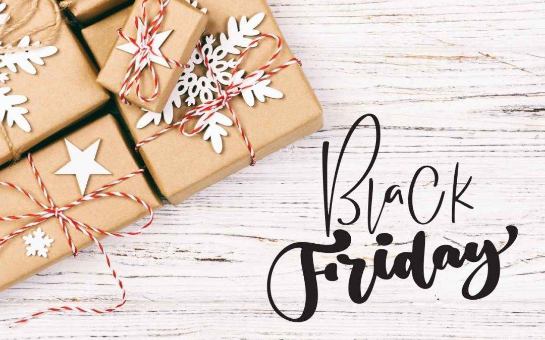 Profitez du Black Friday pour faire vos cadeaux de Noël